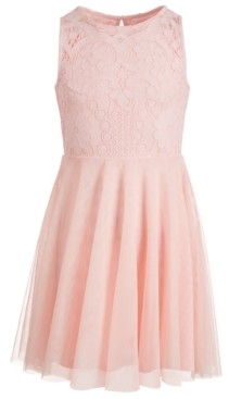 Epic Threads Big Girls Lace Skater Dress, Created for Macy's