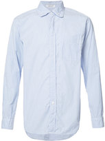 Engineered Garments pinstriped shirt - men - Cotton - S