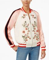 Endless Rose Embroidered Bomber Jacket