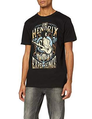 MERCHCODE Men's Jimi Hendrix Experience Tee S T-Shirt, S