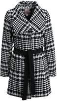 Anna Field CLOUDDANCER Classic coat black/ white