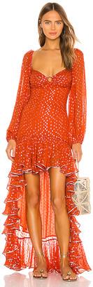 Rococo Sand Iris Dress
