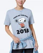 Hybrid Peanuts Juniors' Snoopy 2018 Graphic T-Shirt