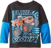 Nickelodeon Little Boys' Blaze and The Monster Machines In To Stem Two-Fer T-Shirt