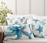 Pottery Barn Oceanic Indoor/Outdoor Pillow