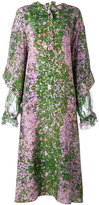 Natasha Zinko Sakura print maxi dress - women - Silk - 44