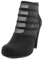 G by Guess Talza Round Toe Canvas Bootie.