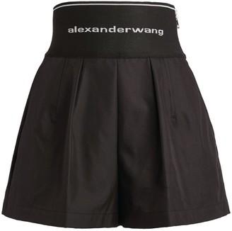 Alexander Wang Elasticated Logo Shorts