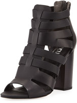 CIRCUS BY SAM EDELMAN York Cutout Zip-Up Gladiator Bootie, Black