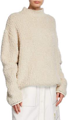 3.1 Phillip Lim Boucle Turtleneck Sweater