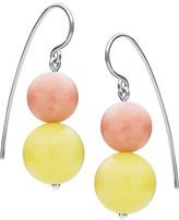 Antigua Jan Logan Sterling Silver Yellow Jasper Earrings
