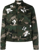 Valentino Mariposa camouflage print jacket