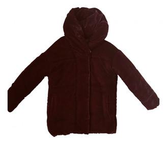 Bel Air Burgundy Velvet Coats