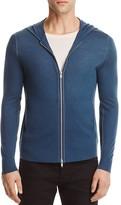 Theory Tremel Merino Wool Zip Hoodie Sweater