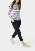 Joules Print Jersey Top