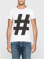 Calvin Klein Hashtag Slim Fit T-Shirt