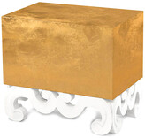 Badgley Mischka Home Monterey Scroll Side Table