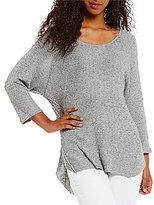 Silver Jeans Co. Starr Criss-Cross Back Dolman-Sleeve Sweater