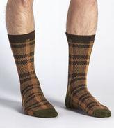 UGG Men's Plaid Crew Sock