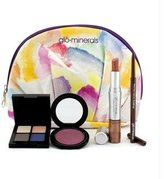 Glo Floral Fantasy Collection: 1x Perfect Lip Duo 1x Precise Micro Eyeliner 1x Powder Cheek Stain 1x Cleo Eye Shadow...
