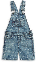 Vigoss Girls 7-16 Girls Star Print Overalls