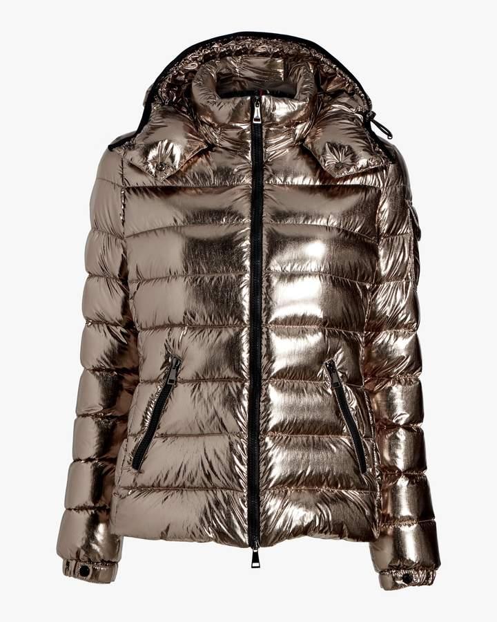de8275d56 Bady Metallic Quilted Puffer Jacket