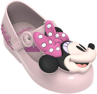 Mini Melissa Sweet Love Minnie Mary Jane Flats, Baby/Toddler