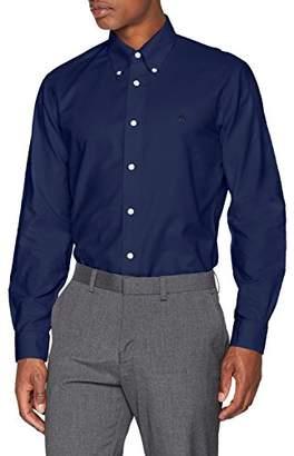 Brooks Brothers Men's Micro Dobby Milano Fit Casual Shirt,Medium
