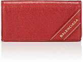 Balenciaga Women's Arena Leather Blanket Money Wallet