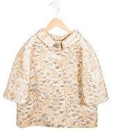 Dolce & Gabbana Girls' Metallic Jacquard Jacket
