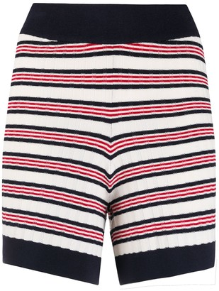 ODYSSEE Liberte knitted shorts