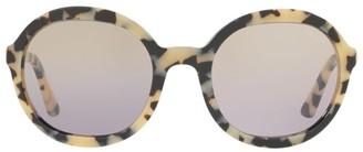 Prada Heritage Round Sunglasses
