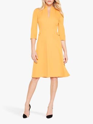 Damsel in a Dress Tansie Flared Dress, Orange