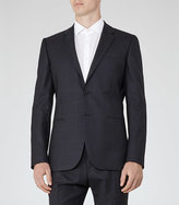 Reiss Judge B Checked Wool Blazer