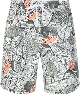 Onia Birds Of Paradise swim shorts