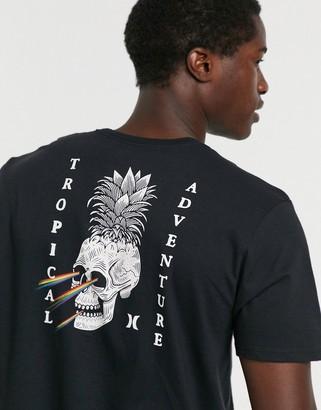 Hurley Pineapple Floyd t-shirt in black