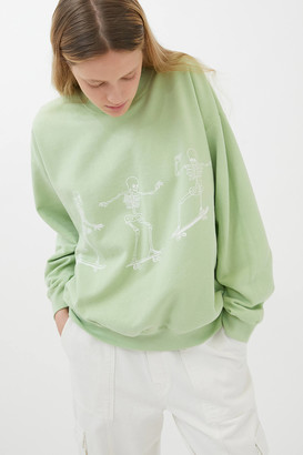 Project Social T Skateboard Skeletons Sweatshirt