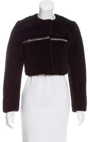 Alexander Wang Cropped Shearling Jacket w/ Tags