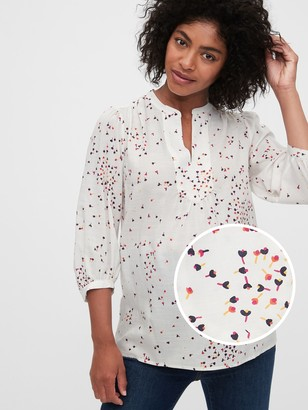 Gap Maternity Splitneck Top