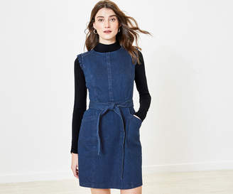Oasis Frill Denim Shift Dress
