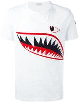 Moncler shark print T-shirt - men - Cotton - M