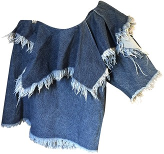 Marques Almeida Blue Denim - Jeans Tops