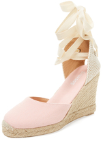 Soludos Ankle-Wrap Espadrille Wedge