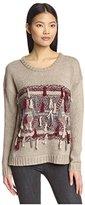 Heartloom Women's Fringe Detail Sweater