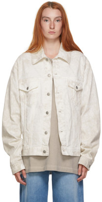 Maison Margiela Off-White Denim Vintage Wash Jacket