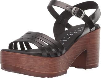 Musse & Cloud Women's Fenix Heeled Sandal Nubuck 40 Medium EU (9-9.5 US)