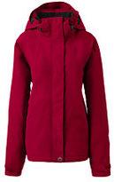 Lands' End Women's Hooded Squall Jacket-Black