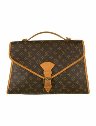 Louis Vuitton Monogram Bel Air GM Briefcase Brown