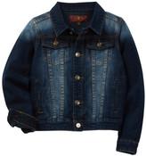 7 For All Mankind Denim Trucker Jacket (Little Boys)
