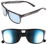Revo Men's 'Holsby' 58Mm Polarized Sunglasses - Black Woodgrain/ Blue Water
